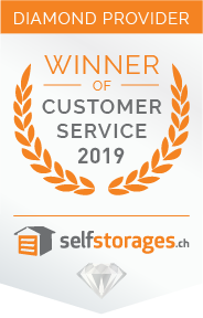 Selfstorage mit Customer Service Award Zürich